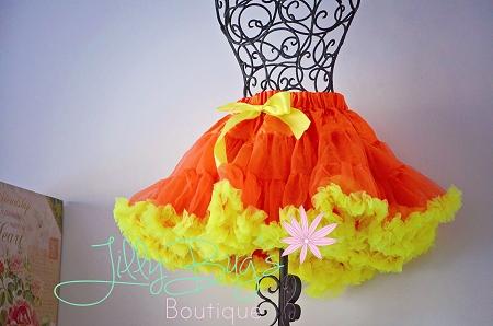 Home > Petti Skirt and Sets > Candy Corn Petti Skirt