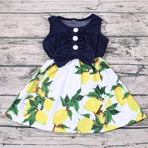 Blue Jean Lemons dress