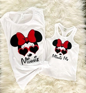 Minnie Me Mom Tank