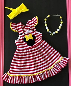 Stripe Minnie Dress