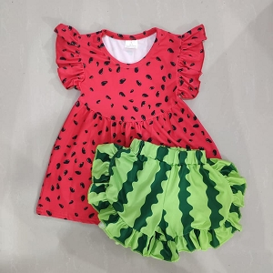 Watermelon Shorts set Stripe
