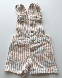 Stripe Knot Overalls