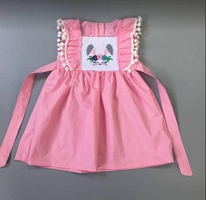 PINK Bunny tie dress