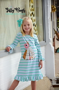 TeePee Rose Dress