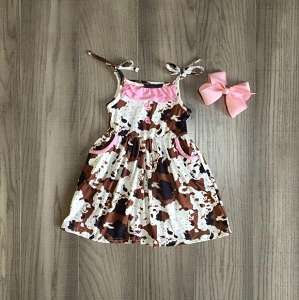 CowHide Dress with pockets