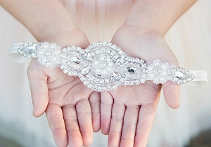 Diamonds and Pearls HeadBand