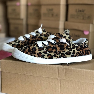 Leopard Knot shoes