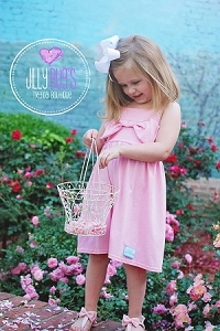 Light Pink Bow Dress