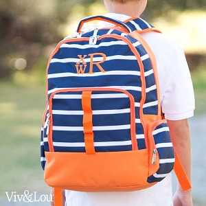 Orange Blue Backpack