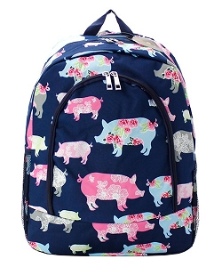 Rose Pig BackPack