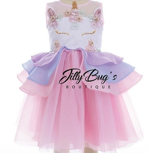 Unicorn Tulle Dress  READ DESCRIPTION BEFORE ORDERING