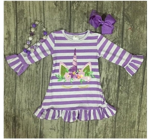 Lavender Unicorn Dress