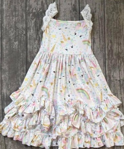 Unicorn Layers or Ruffle Dress