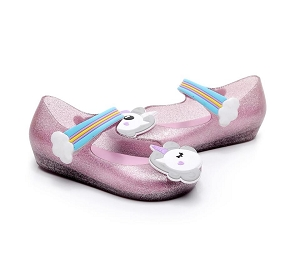 Unicorn Pink Jelly Shoes