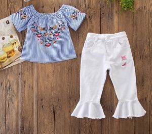 White flair Butterfly Set