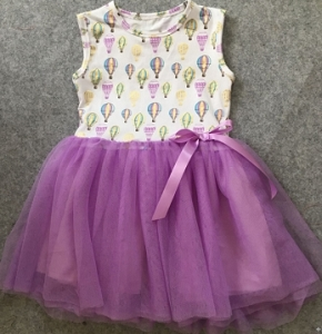 Balloon Tulle Dress