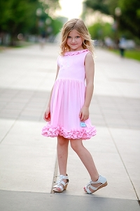 Bubble Gum Pink Icing Dress