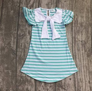 Sailor Dress Aqua