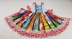Dr Seuss Dress Swirl