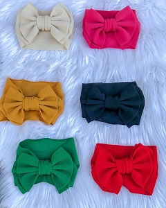 Wide Bow Headwraps