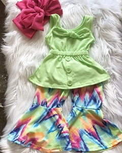 Lime Splash Bell Set