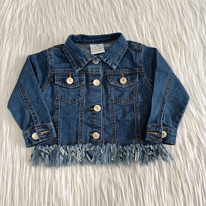 Fray Bottom Jean Jacket