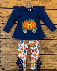 Lattice Leggings Pumpkin Outfit