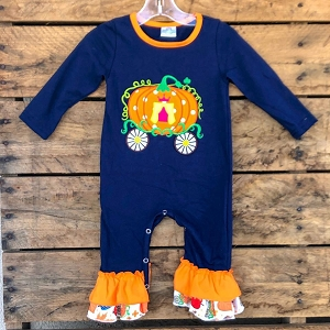 Pumpkin Carriage Romper