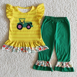 Green Tractor Outfit