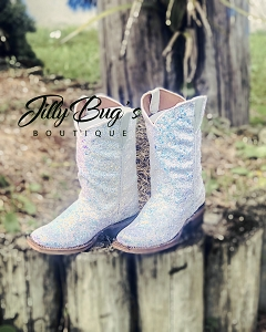 Unicorn CowGirl Up Boots