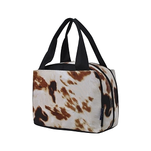 Cow Hide Lunch Bag