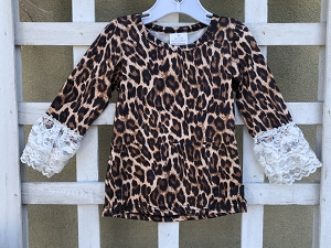 Leopard and Lace Shirt