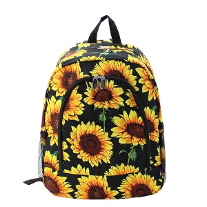 Sunflower Backpack and matching Lunch Bag